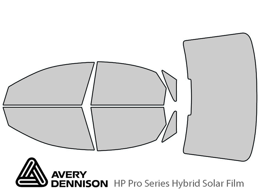 Avery Dennison Audi S8 2013-2020 HP Pro Window Tint Kit