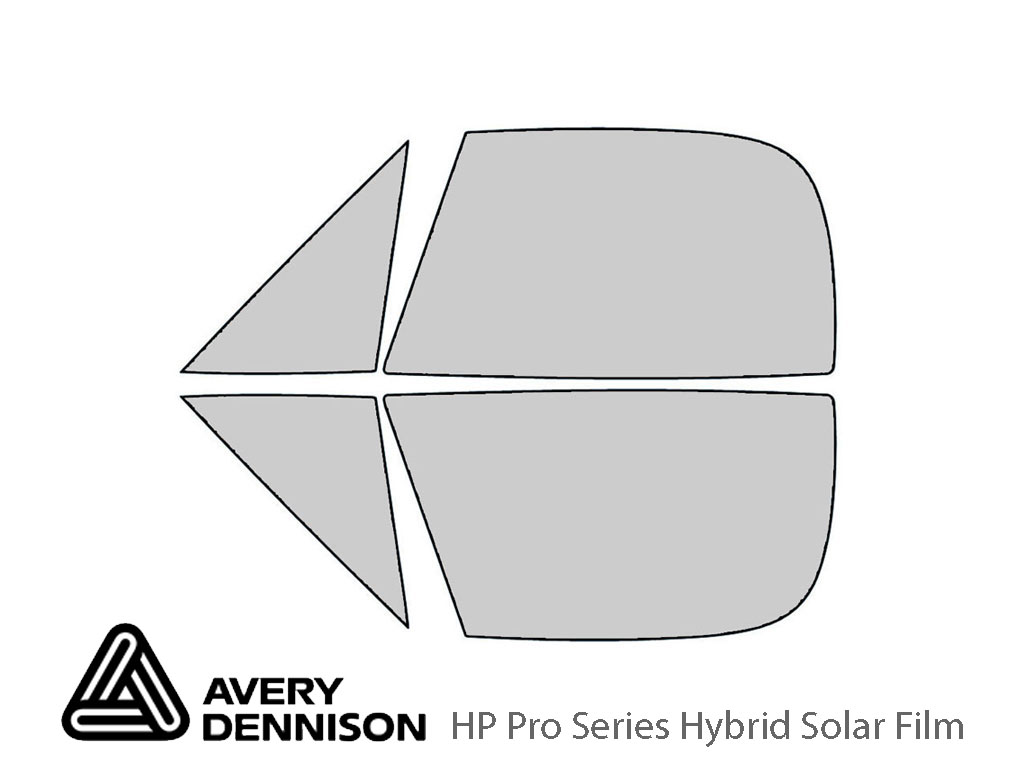 Avery Dennison BMW Z3 1996-2002 (Roadster) HP Pro Window Tint Kit