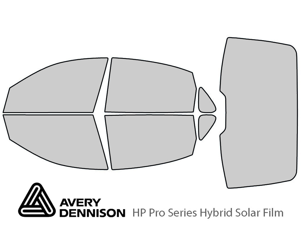 Avery Dennison Buick Allure 2005-2009 HP Pro Window Tint Kit