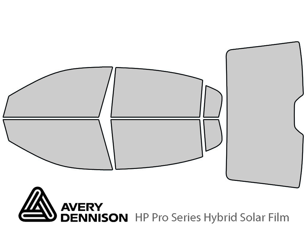 Avery Dennison Buick Lucerne 2006-2011 HP Pro Window Tint Kit