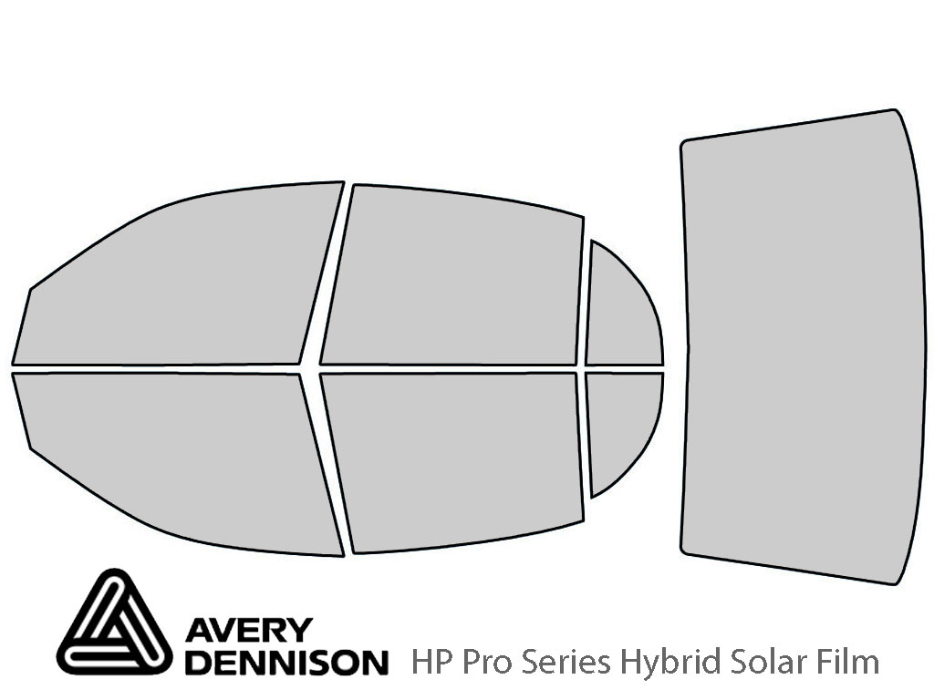 Avery Dennison Buick Park Avenue 1997-2005 HP Pro Window Tint Kit