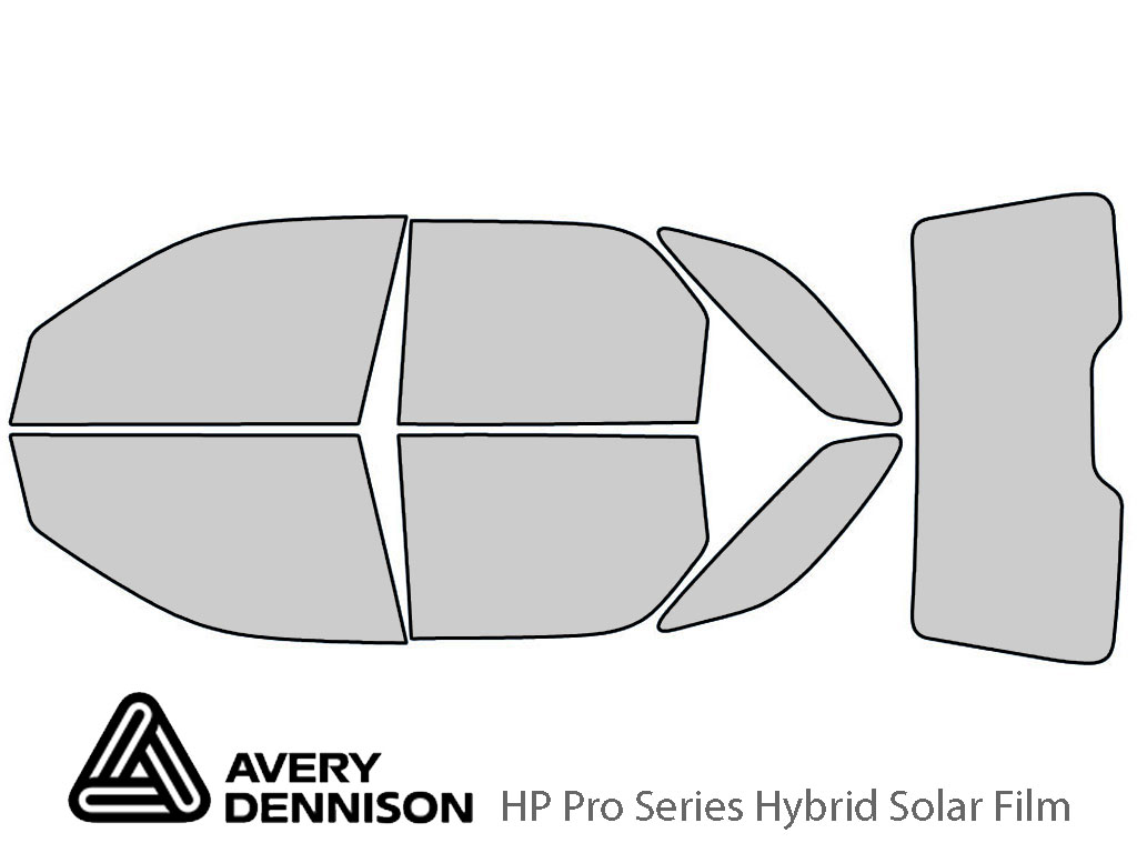 Avery Dennison Buick Rendezvous 2002-2007 HP Pro Window Tint Kit