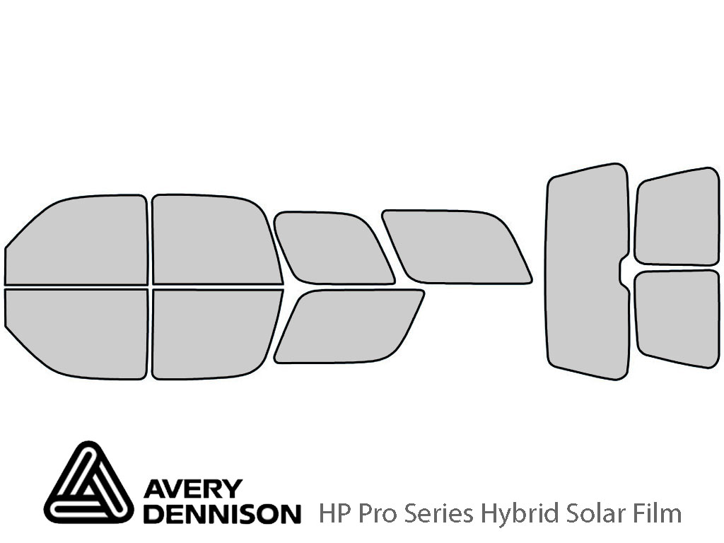 Avery Dennison Cadillac Escalade 2002-2006 HP Pro Window Tint Kit