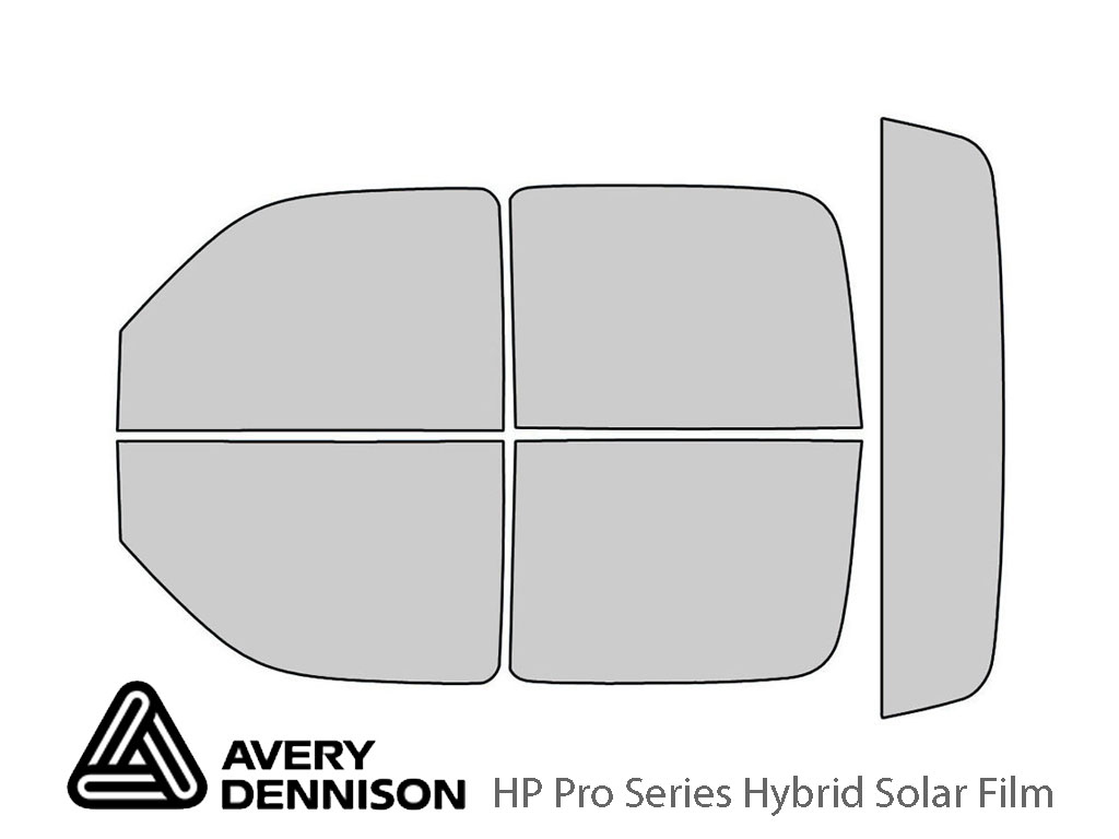Avery Dennison Cadillac Escalade 2003-2006 (EXT) HP Pro Window Tint Kit