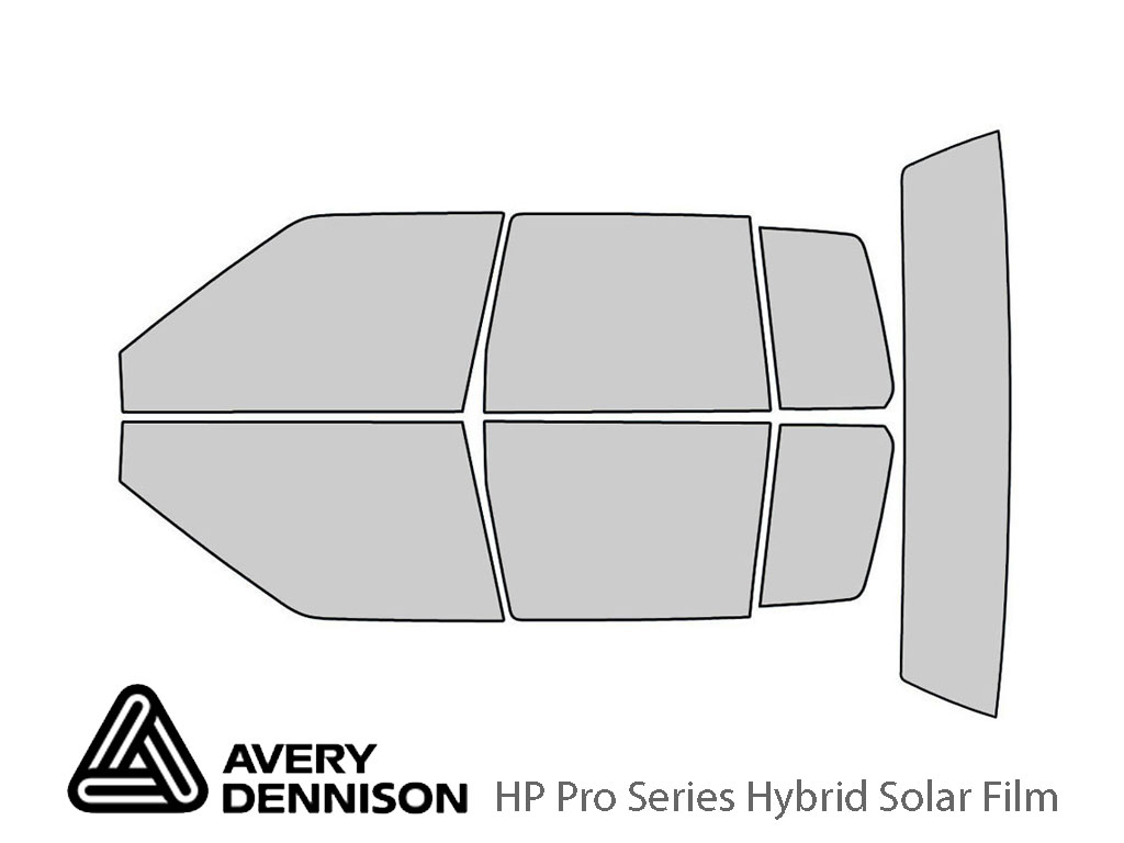 Avery Dennison Cadillac Seville 1986-1991 HP Pro Window Tint Kit