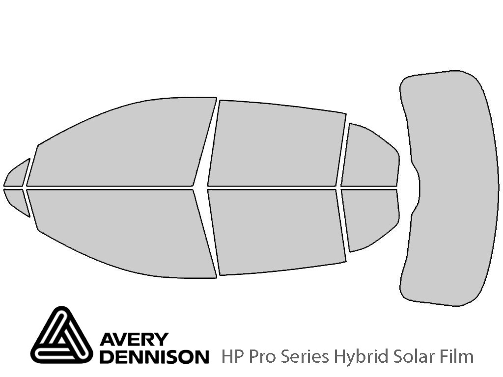 Avery Dennison Cadillac XT4 2019-2021 HP Pro Window Tint Kit