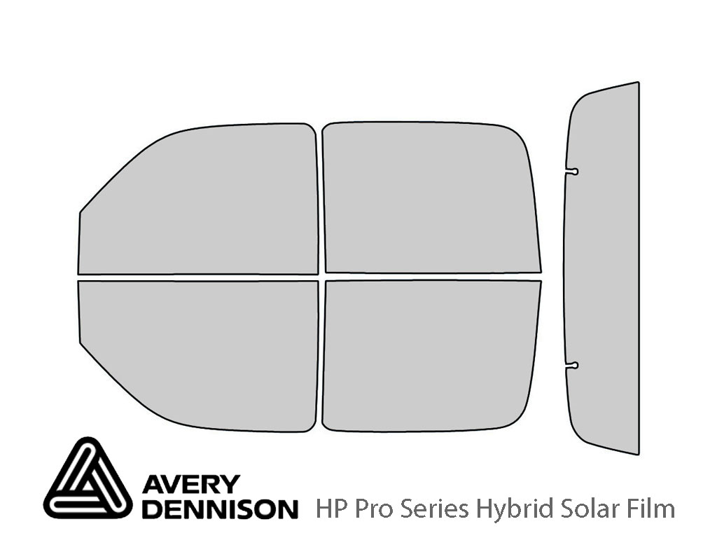 Avery Dennison Chevrolet Avalanche 2002-2006 HP Pro Window Tint Kit