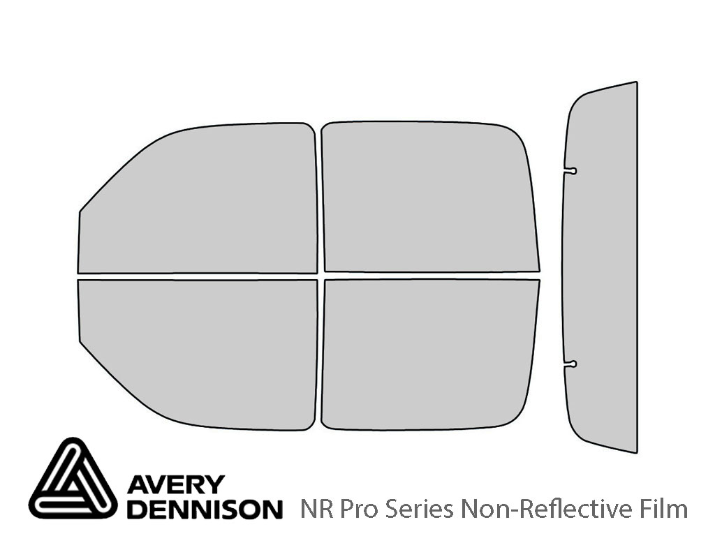 Avery Dennison Chevrolet Avalanche 2002-2006 NR Pro Window Tint Kit