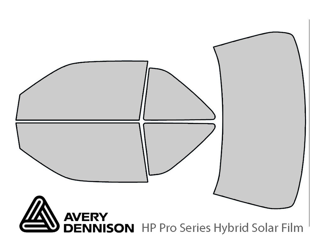Avery Dennison Chevrolet Beretta 1990-1996 (Coupe) HP Pro Window Tint Kit
