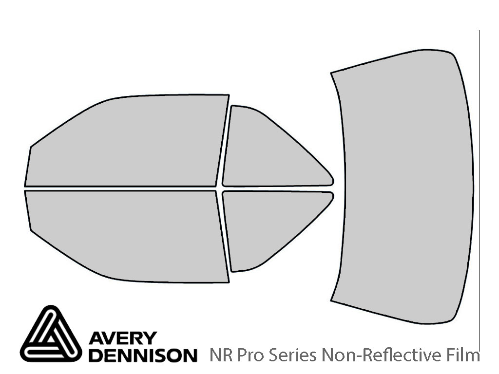 Avery Dennison Chevrolet Beretta 1990-1996 (Coupe) NR Pro Window Tint Kit