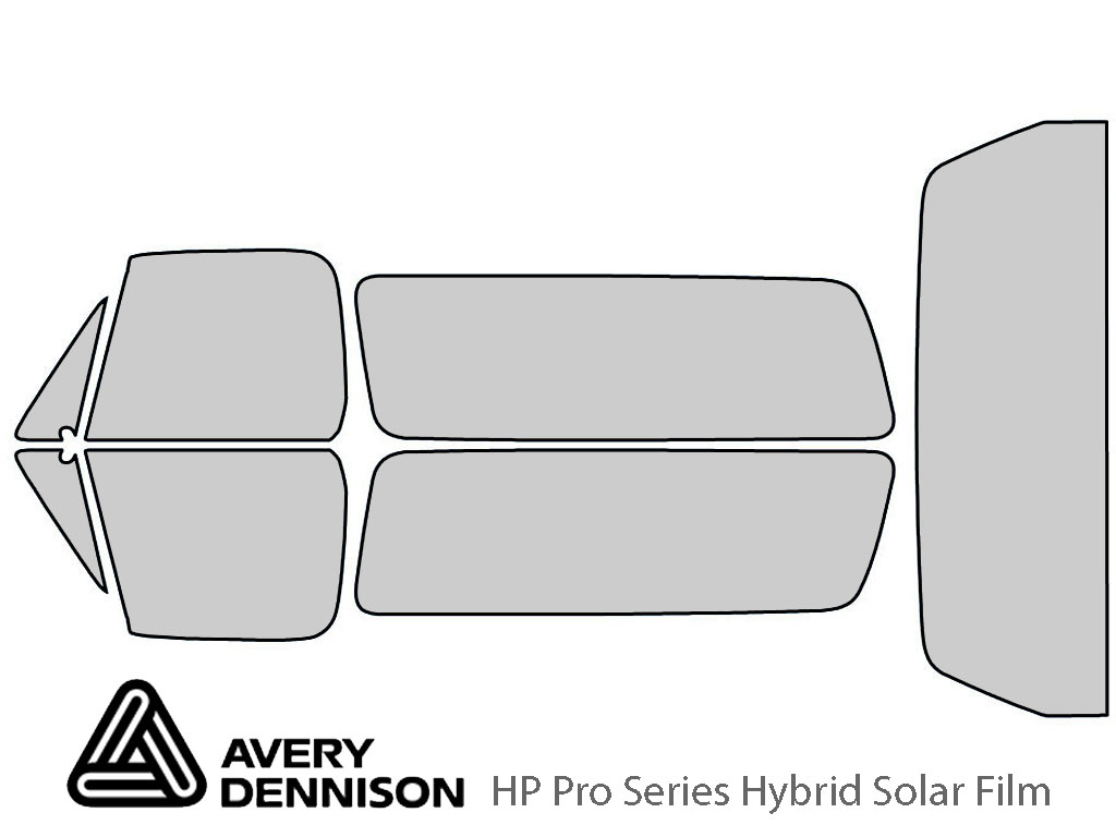 Avery Dennison Chevrolet Blazer 1989-1991 HP Pro Window Tint Kit