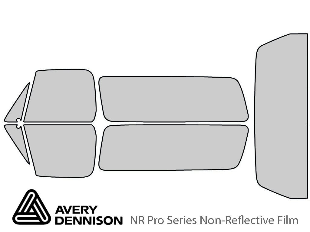 Avery Dennison Chevrolet Blazer 1989-1991 NR Pro Window Tint Kit