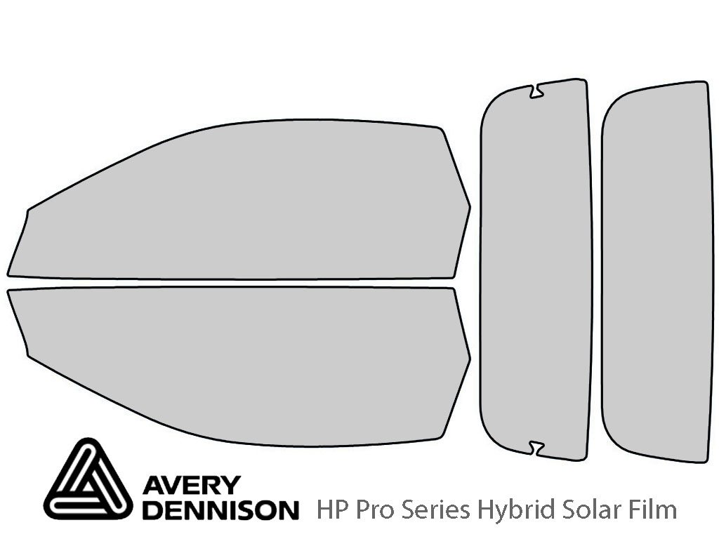 Avery Dennison Chevrolet Camaro 1994-2002 (Convertible) HP Pro Window Tint Kit