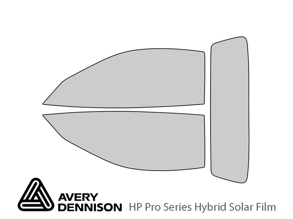 Avery Dennison Chevrolet Corvette 1998-2004 (Convertible) HP Pro Window Tint Kit
