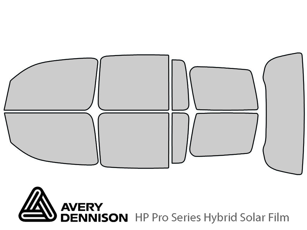 Avery Dennison Chevrolet HHR 2006-2011 HP Pro Window Tint Kit