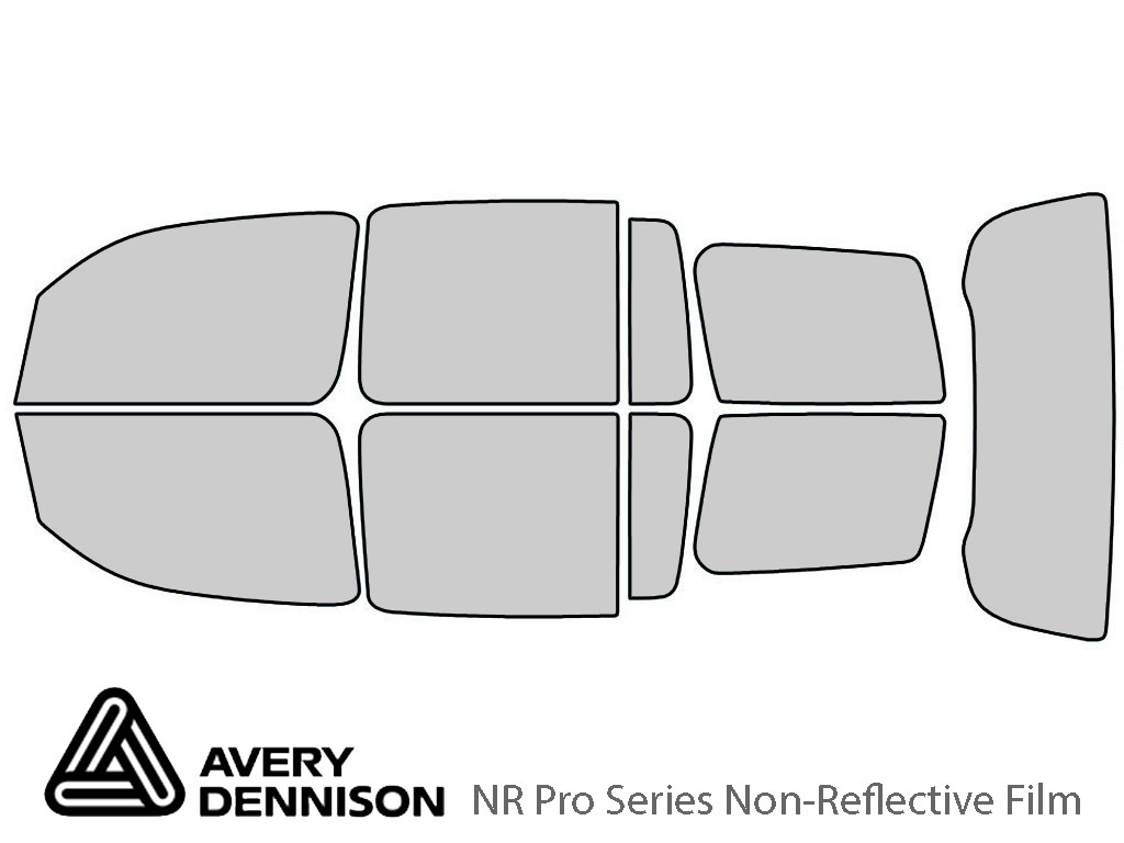 Avery Dennison Chevrolet HHR 2006-2011 NR Pro Window Tint Kit