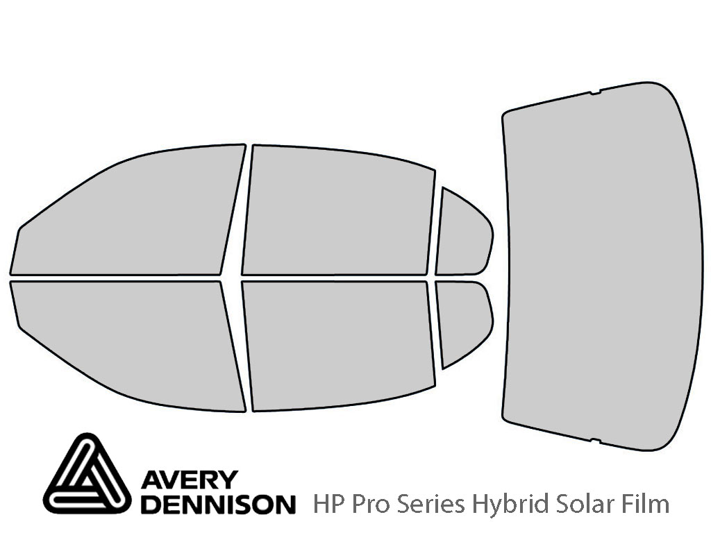 Avery Dennison Chevrolet Malibu 1997-2003 HP Pro Window Tint Kit