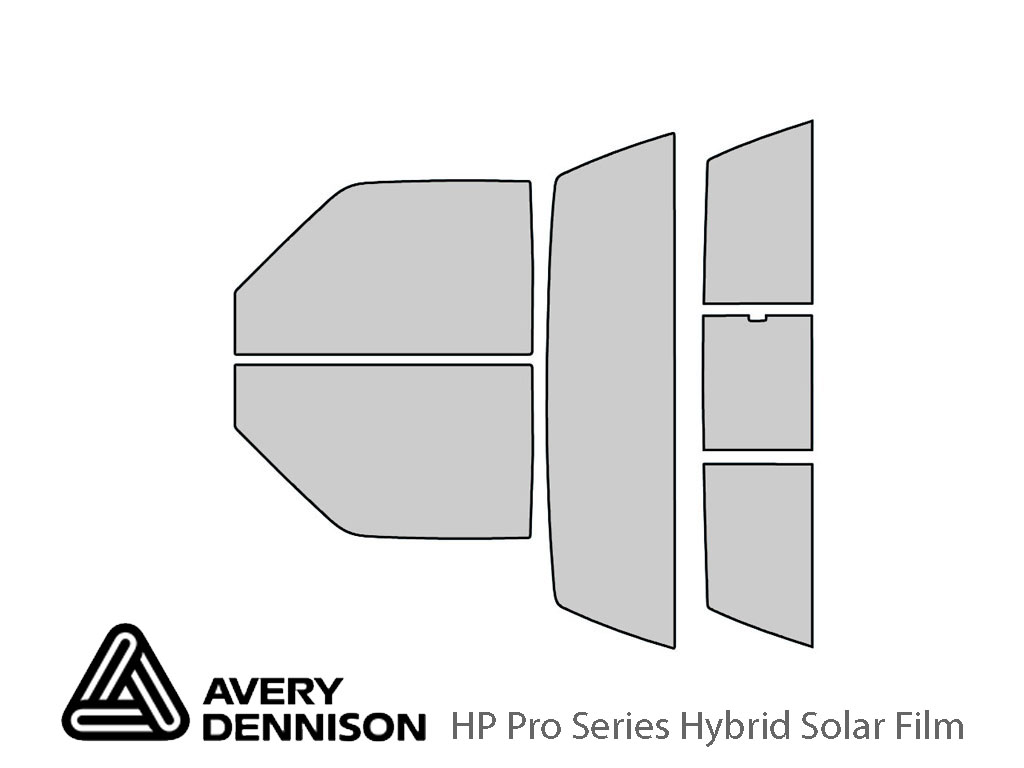 Avery Dennison Chevrolet S-10 1982-1993 HP Pro Window Tint Kit