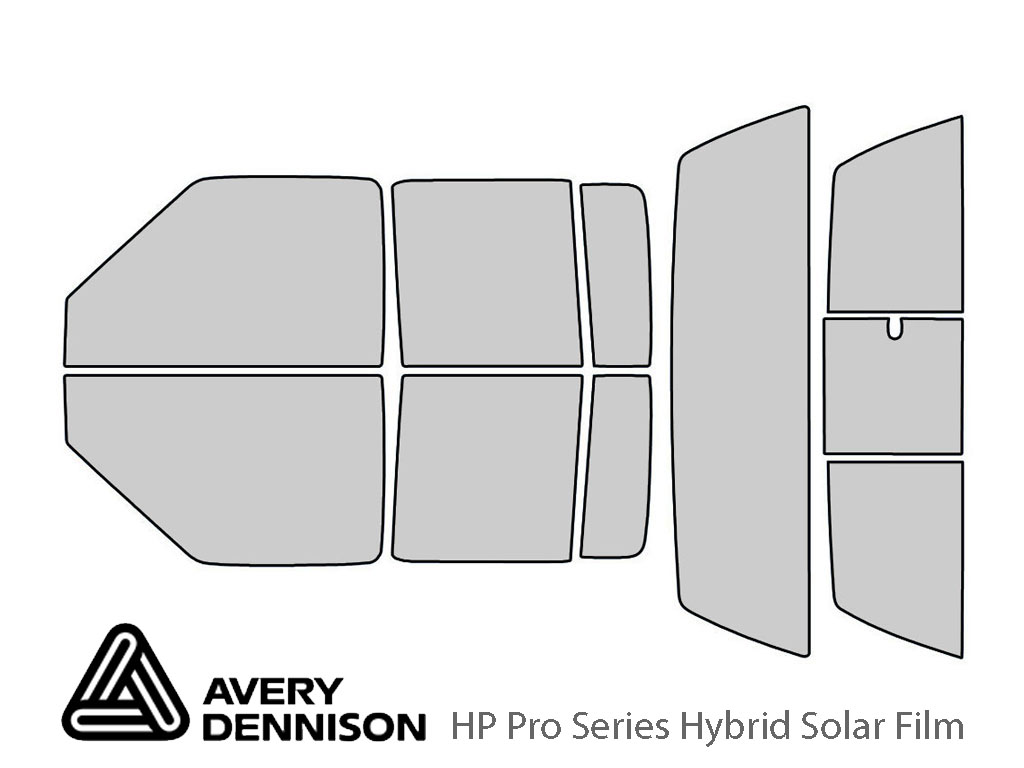 Avery Dennison Chevrolet S-10 2001-2005 (4 Door) HP Pro Window Tint Kit