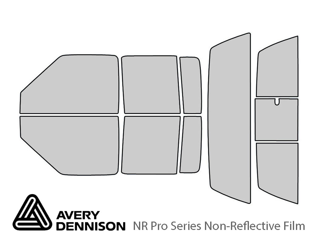 Avery Dennison Chevrolet S-10 2001-2005 (4 Door) NR Pro Window Tint Kit