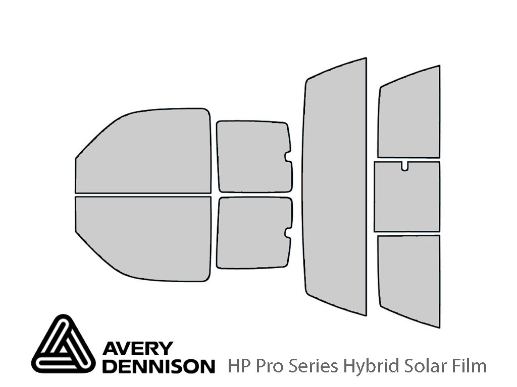 Avery Dennison Chevrolet Silverado 2000-2006 (2 Door) HP Pro Window Tint Kit