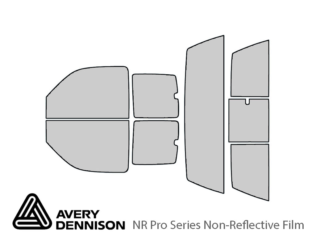 Avery Dennison Chevrolet Silverado 2000-2006 (2 Door) NR Pro Window Tint Kit