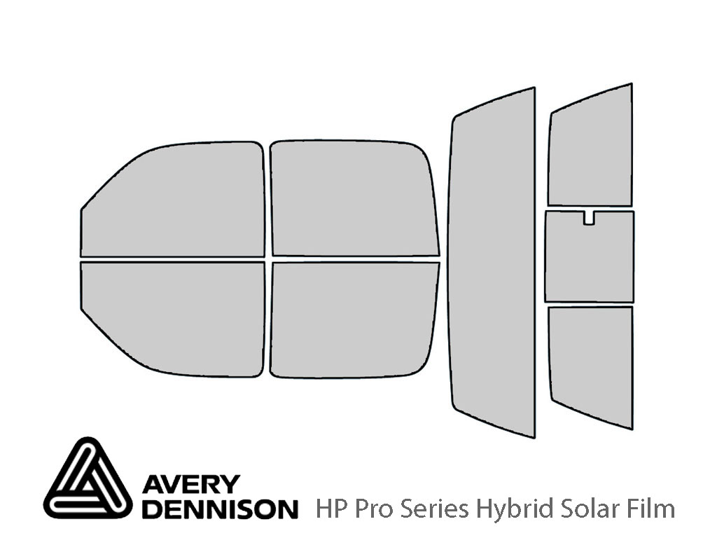 Avery Dennison Chevrolet Silverado 2001-2006 (4 Door) HP Pro Window Tint Kit