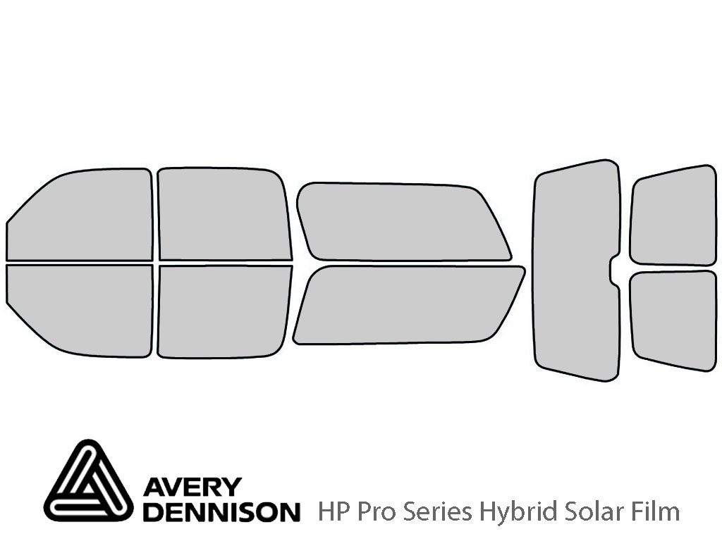 Avery Dennison Chevrolet Suburban 2000-2006 HP Pro Window Tint Kit