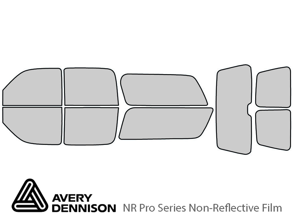 Avery Dennison Chevrolet Suburban 2000-2006 NR Pro Window Tint Kit