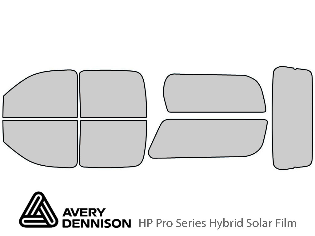 Avery Dennison Chevrolet Suburban 2007-2014 HP Pro Window Tint Kit