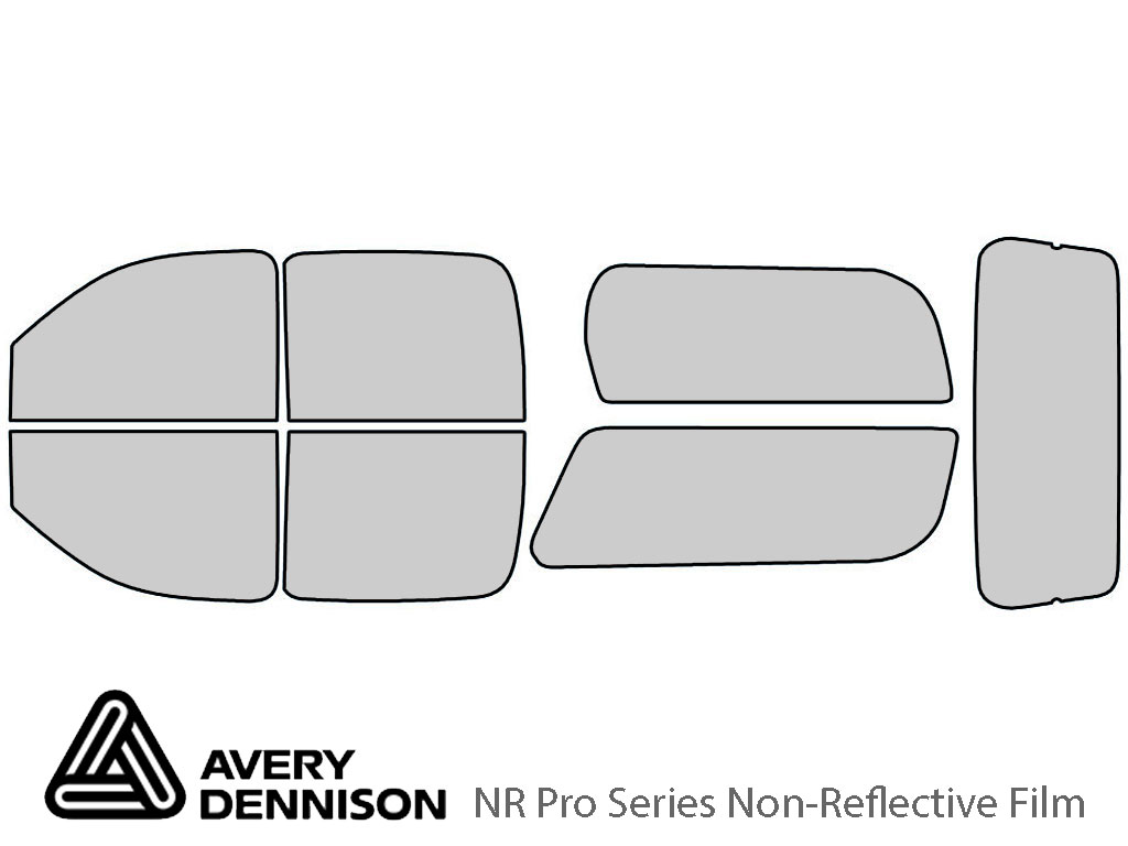 Avery Dennison Chevrolet Suburban 2007-2014 NR Pro Window Tint Kit