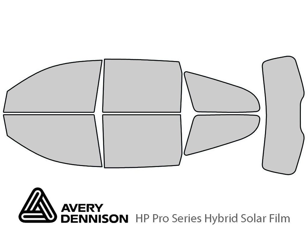 Avery Dennison Chevrolet Traverse 2009-2017 HP Pro Window Tint Kit