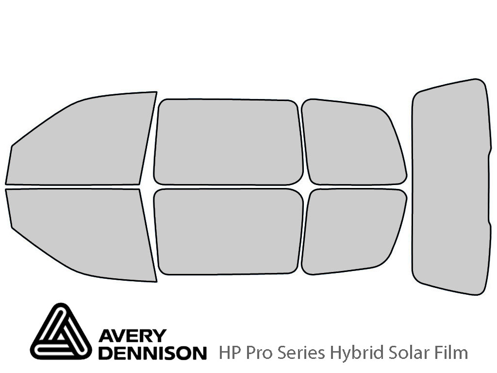 Avery Dennison Chevrolet Venture 1997-2005 HP Pro Window Tint Kit