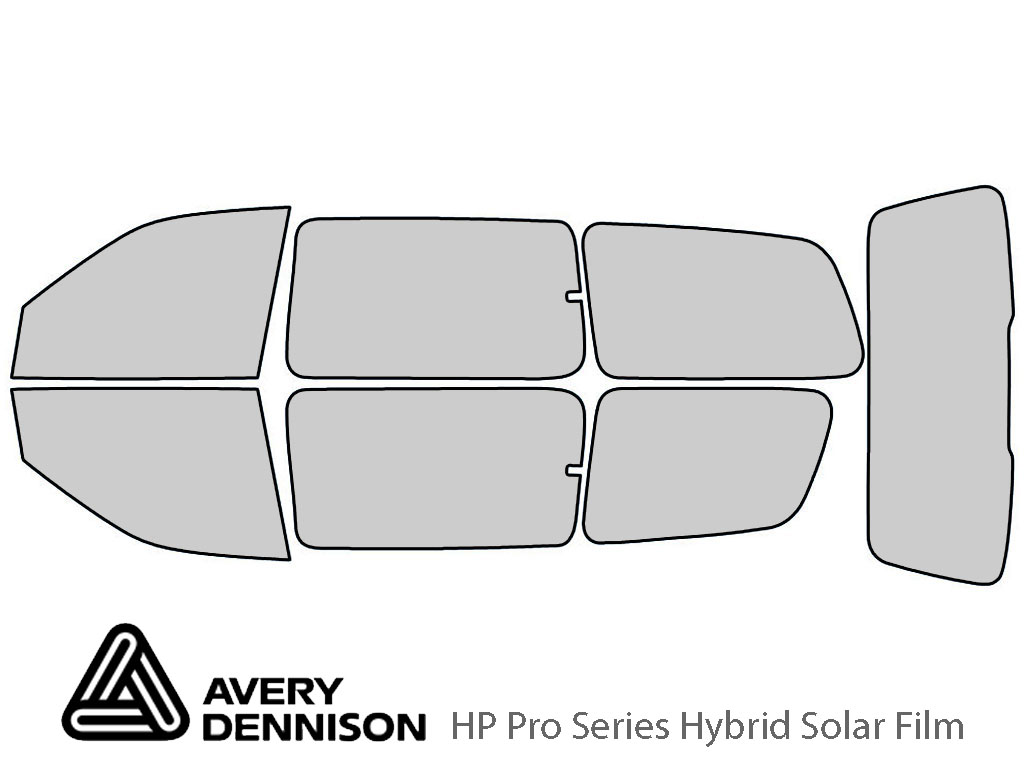 Avery Dennison Chevrolet Venture 1997-2005 (EXT) HP Pro Window Tint Kit
