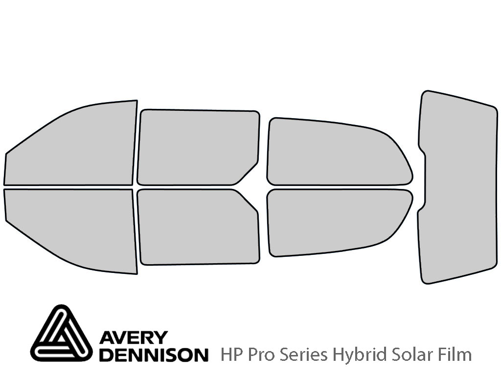 Avery Dennison Dodge Caravan 1996-2000 HP Pro Window Tint Kit