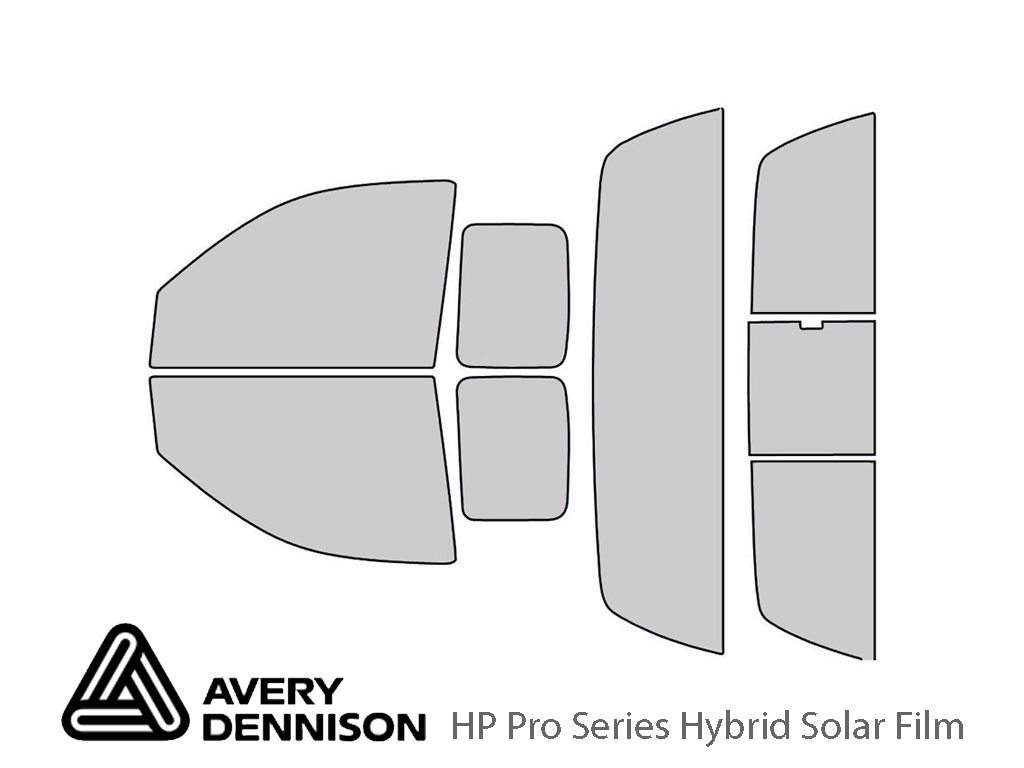 Avery Dennison Dodge Dakota 2005-2010 (2 Door) HP Pro Window Tint Kit