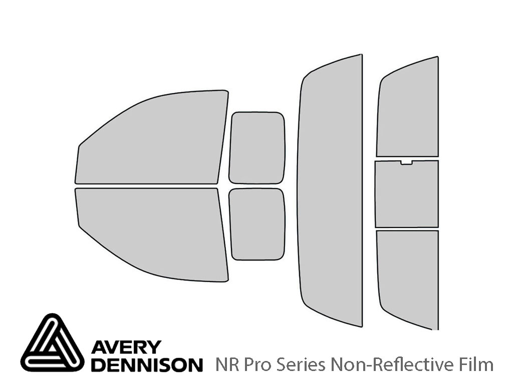 Avery Dennison Dodge Dakota 2005-2010 (2 Door) NR Pro Window Tint Kit