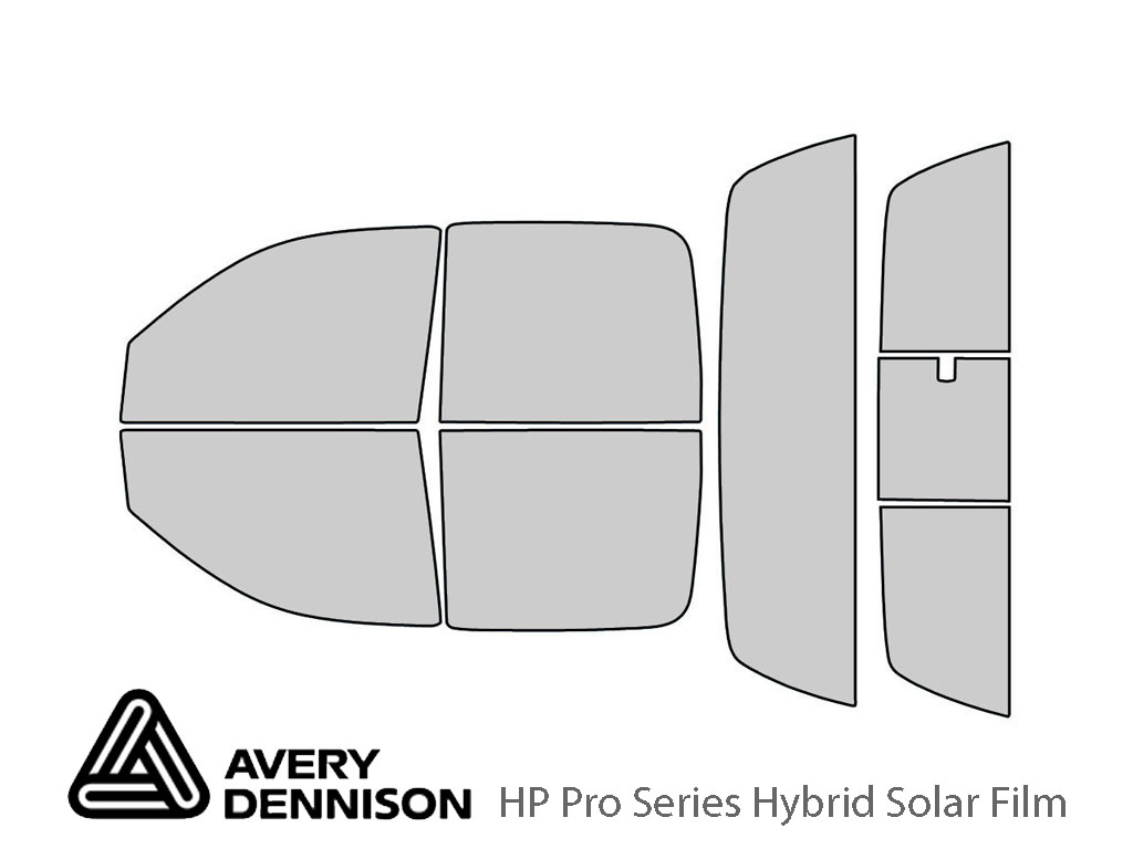 Avery Dennison Dodge Dakota 2005-2010 (4 Door) HP Pro Window Tint Kit