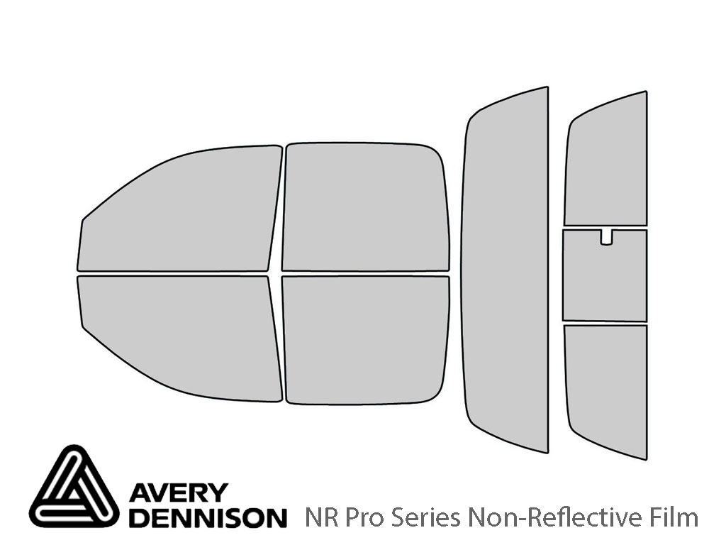 Avery Dennison Dodge Dakota 2005-2010 (4 Door) NR Pro Window Tint Kit