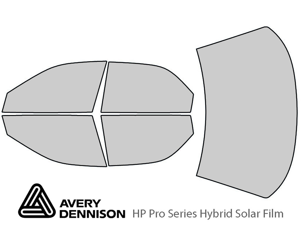 Avery Dennison Eagle Vision 1993-1997 HP Pro Window Tint Kit