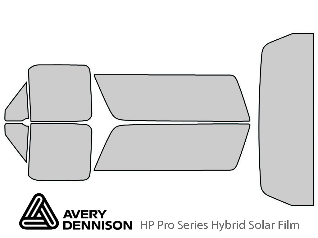 Avery Dennison Ford Bronco 1990-1996 HP Pro Window Tint Kit
