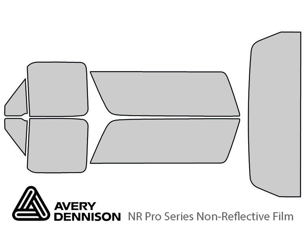 Avery Dennison Ford Bronco 1990-1996 NR Pro Window Tint Kit