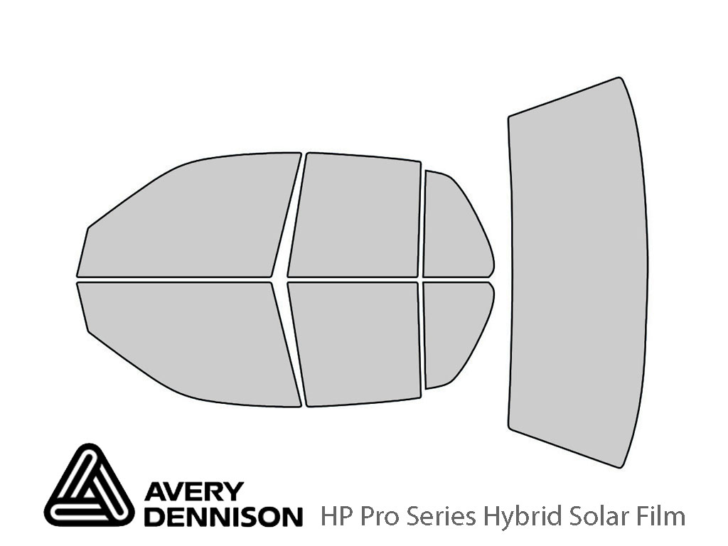 Avery Dennison Ford Crown Victoria 1998-2011 HP Pro Window Tint Kit