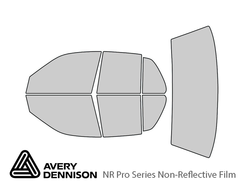 Avery Dennison Ford Crown Victoria 1998-2011 NR Pro Window Tint Kit