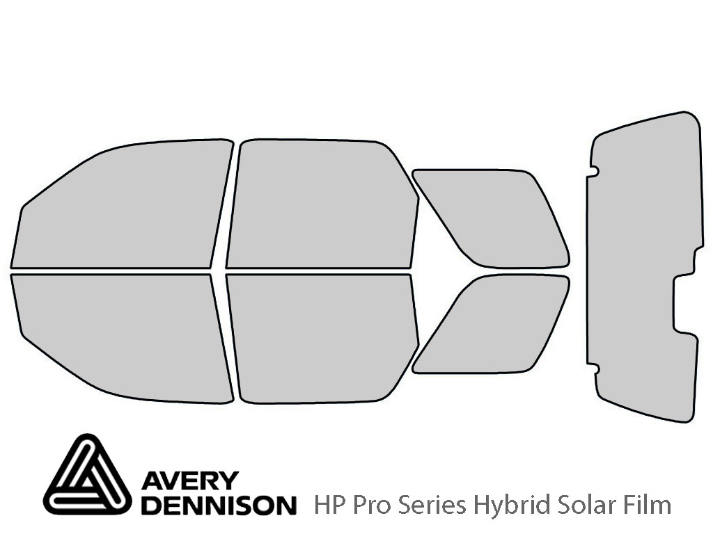 Avery Dennison Ford Escape 2001-2007 HP Pro Window Tint Kit