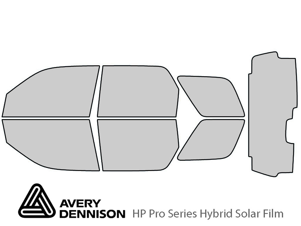 Avery Dennison Ford Escape 2008-2012 HP Pro Window Tint Kit