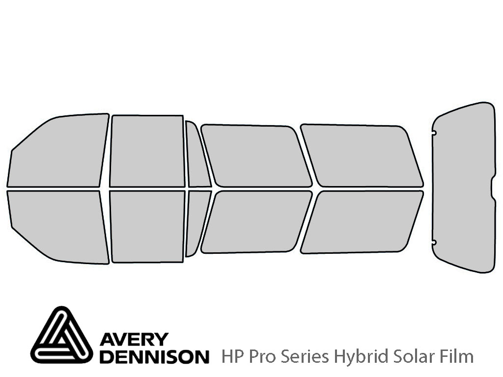 Avery Dennison Ford Expedition 1997-2002 HP Pro Window Tint Kit