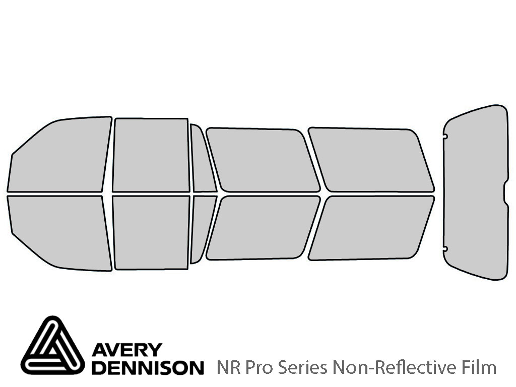 Avery Dennison Ford Expedition 1997-2002 NR Pro Window Tint Kit