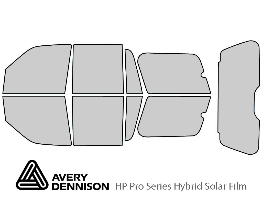 Avery Dennison Ford Expedition 2003-2006 HP Pro Window Tint Kit