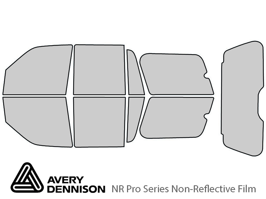 Avery Dennison Ford Expedition 2003-2006 NR Pro Window Tint Kit
